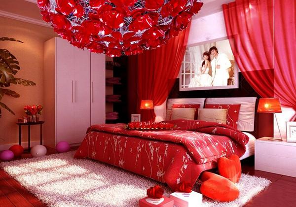 婚房卧室布置效果图 2016年婚房布置设计-工作很累 卧室这样布置能减