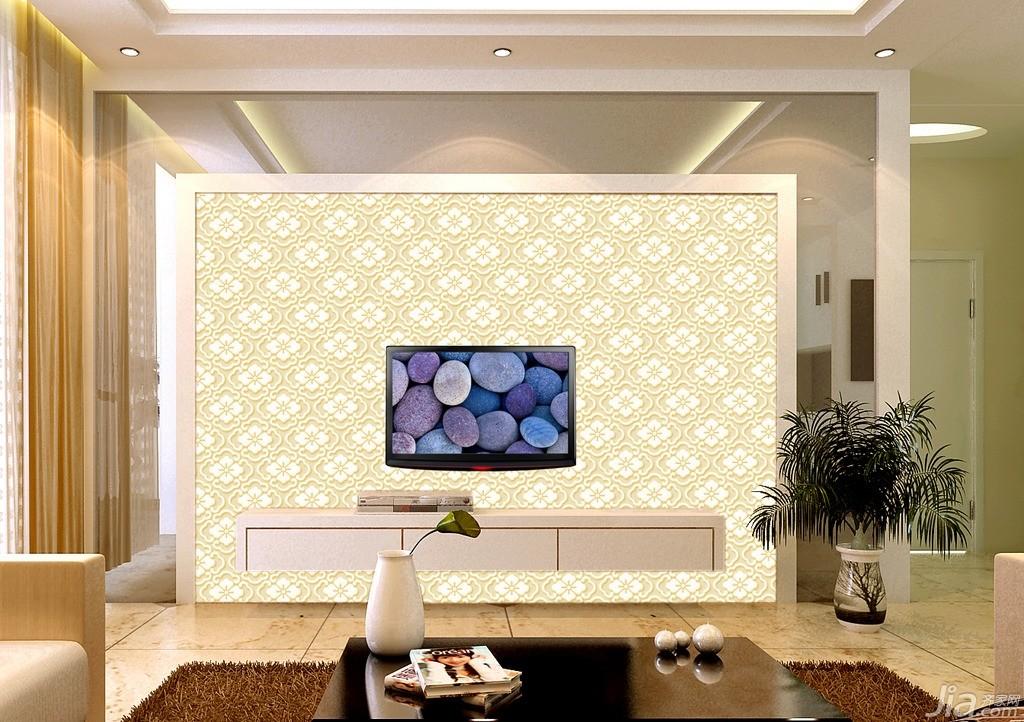 室内装修电视背景墙 如何装修更美观?