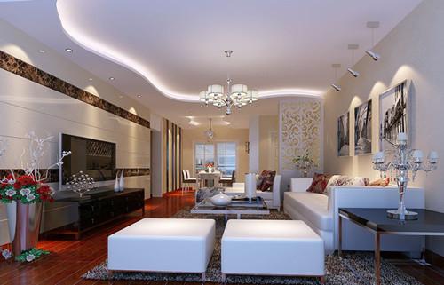 客厅吊顶设计 吊顶天花的种类