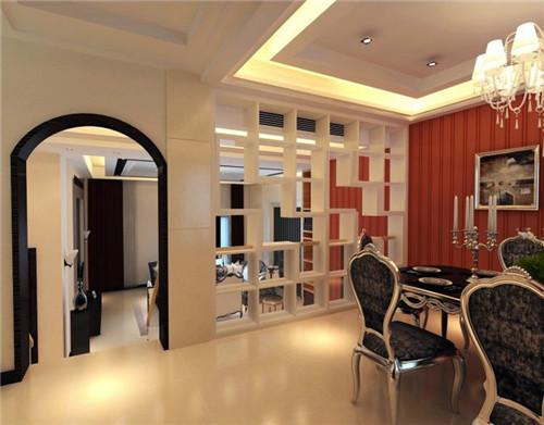 客厅饭厅隔断装修效果图 超实用客厅饭厅隔断设计
