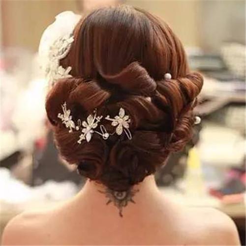 2017新娘发型大全图片欣赏 发型搭配技巧图片