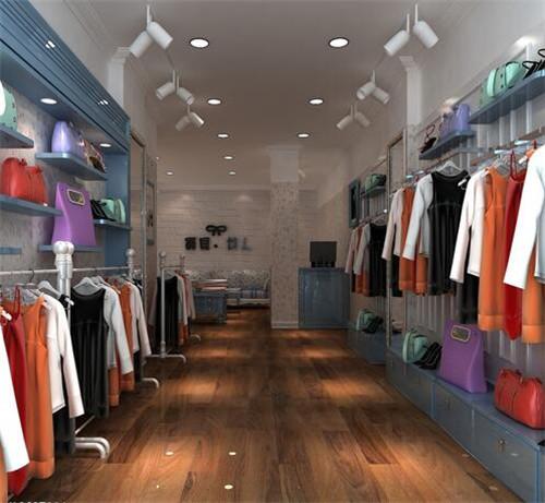 女装装修效果图 5个值得一看时尚潮流女装店