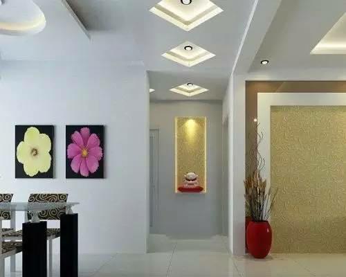 客厅吊顶灯效果图 4款风格各异的客厅吊顶灯设计