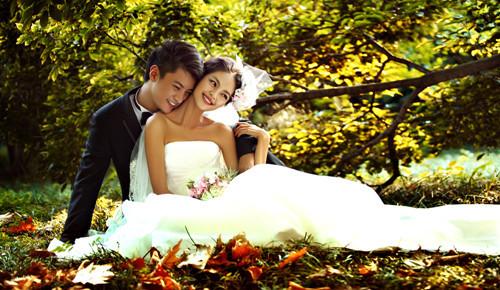 青岛婚纱影楼哪个好 青岛秋天哪拍外景婚纱照好看