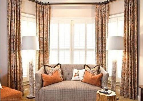 客廳窗簾效果圖大全2017圖片 打造魅力無限的客廳窗簾