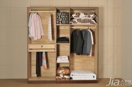 衣柜里面效果图 衣柜内部空间如何合理布局