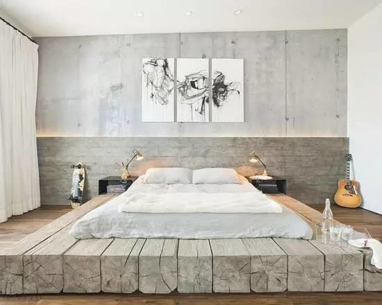 床头造型效果图圆弧形