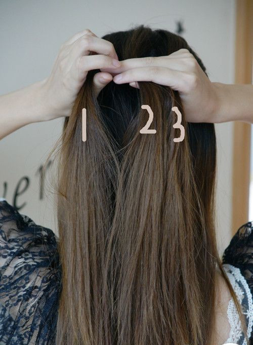 五股辫要怎么编 五股辫子的编法图解