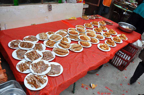 农村400元婚宴菜谱分享 农村办婚宴注意事项图片