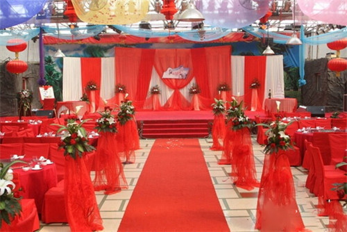 农村婚庆布置效果图 农村自家婚礼如何布置漂亮