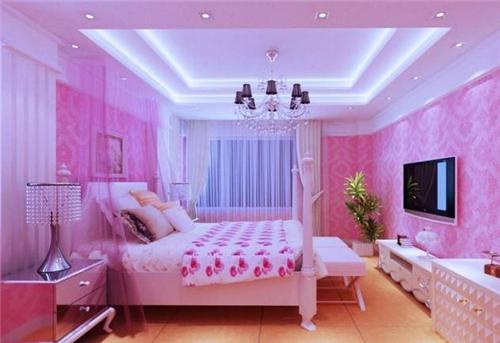 粉色装修效果图 甜美粉色轻松为你打造公主房