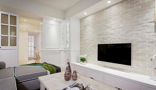 客厅电视背景墙装修图片 个性十足的电视背景墙设计