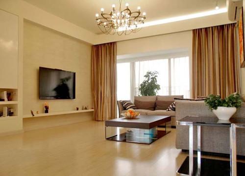 客廳窗簾效果圖 客廳窗簾裝修讓你與陽光親密無間