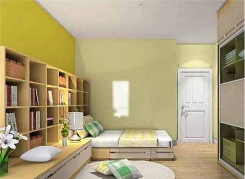卧室书柜装修效果图 让你爱上书房