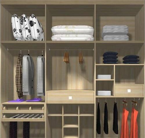 衣柜内部设计效果图 这样的衣柜内部设计才合理-箭牌衣柜的设计怎么
