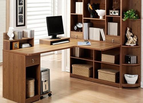转角电脑桌设计技巧 转角电脑桌安装方法