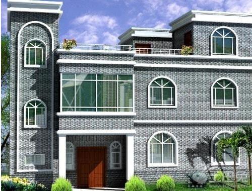 别墅外墙砖效果图 打造低碳环保别墅外墙砖