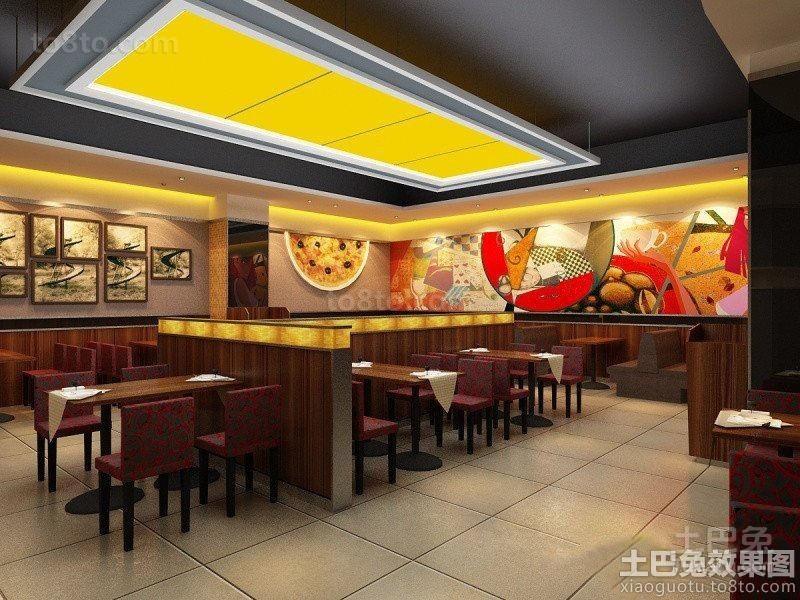 装修新闻 快餐店设计说明 快餐店设计图片  现代人的生活节奏的加快