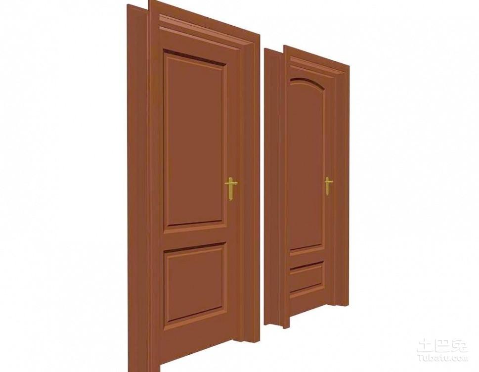 白墙配什么颜色的门?室内门用什么颜色好看