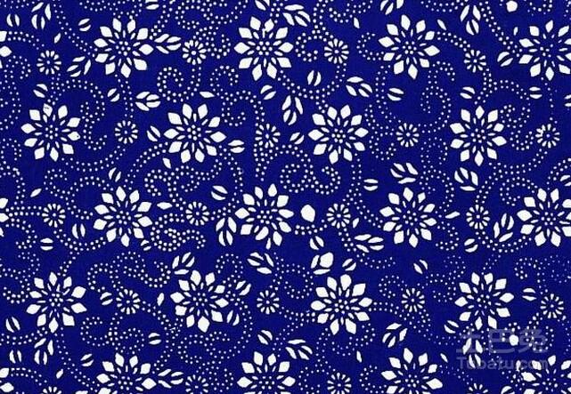 蓝印花布工艺制作过程的介绍