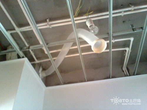防爆排风扇安装方法  现在业主有很多问题,例如:卫生间排风扇安装的